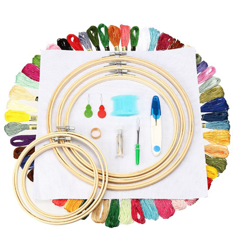 DIY embroidery threading sewing tools