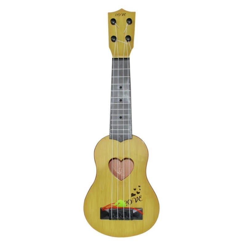 Wood Toys Education Beginner Classical Ukulele Guitar Educational Musical Instrument Toy for Kids