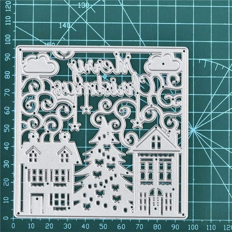 100*97mm Metal Cutting Dies for DIY Scrapbooking Photo Album Embossing Paper Cards Decorative Craft