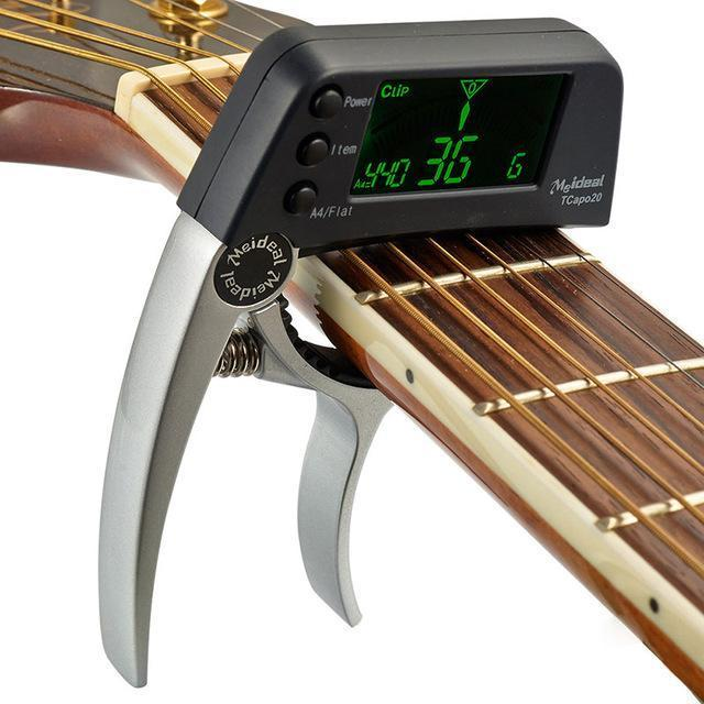 🎉Winter Sale 50% OFF - GUITAR TUNER CAPO (ACOUSTIC & ELECTRIC)