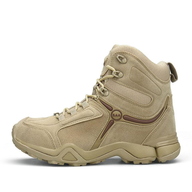Men's Military Outdoor Jungle Desert Combat Work Boots