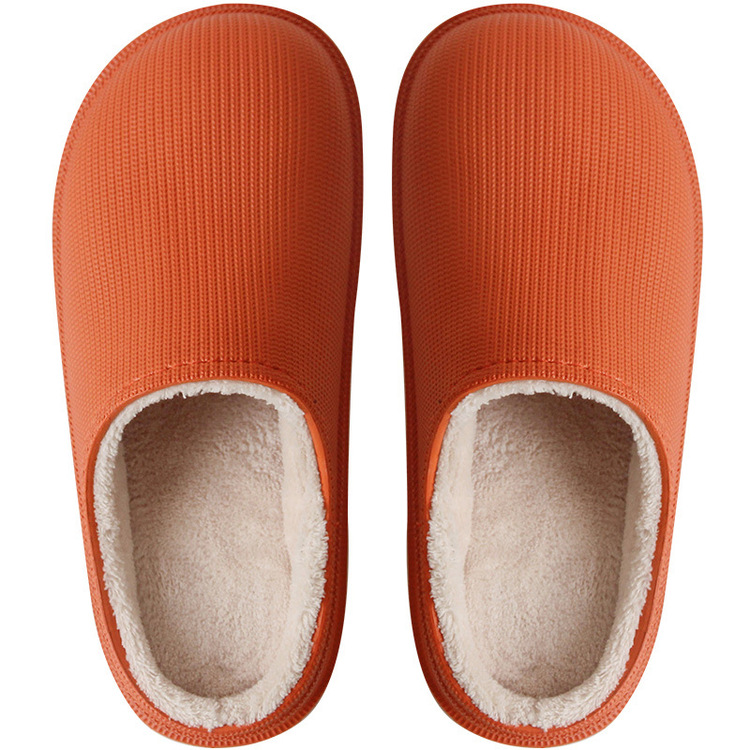 2020 latest technology-Winter Waterproof aAd Warm Slippers