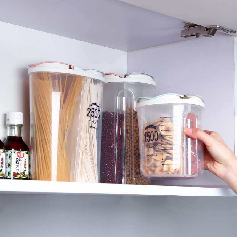 (Clearance Sale🔥)Rotating Kitchen Storage Tank Dry Food Storage Containers Cereal Strorage