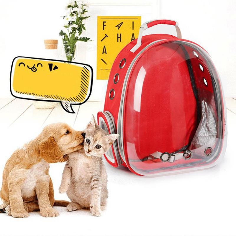 Bubble Pet Carrier Travel Window Backpack for Cats & Dogs - 25L Large