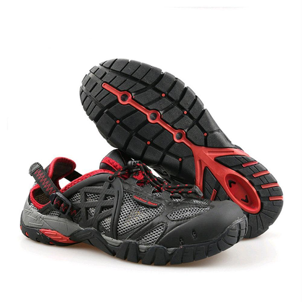 Men's Outdoor Non-slip Breathable Water Shoes Hiking Streaming Shoes