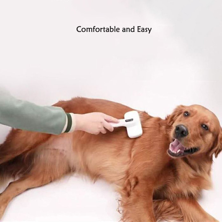 Automatic Hair Removal Pet Comb