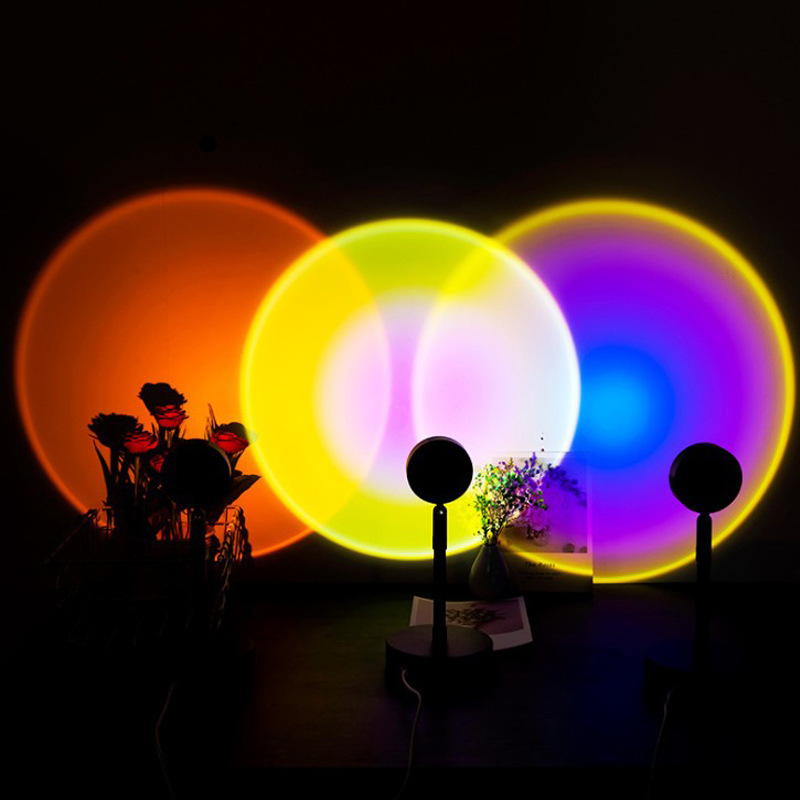 Sunset projection floor lamp - SHEMBY