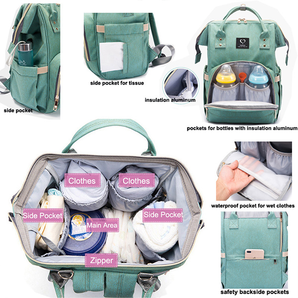 2021 NEW 🔥🔥🔥2 -In-1 Multifunctional Travel Mommy Bags