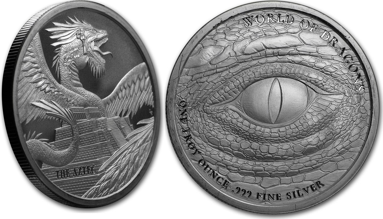 1 oz World of Dragons The Welsh Round