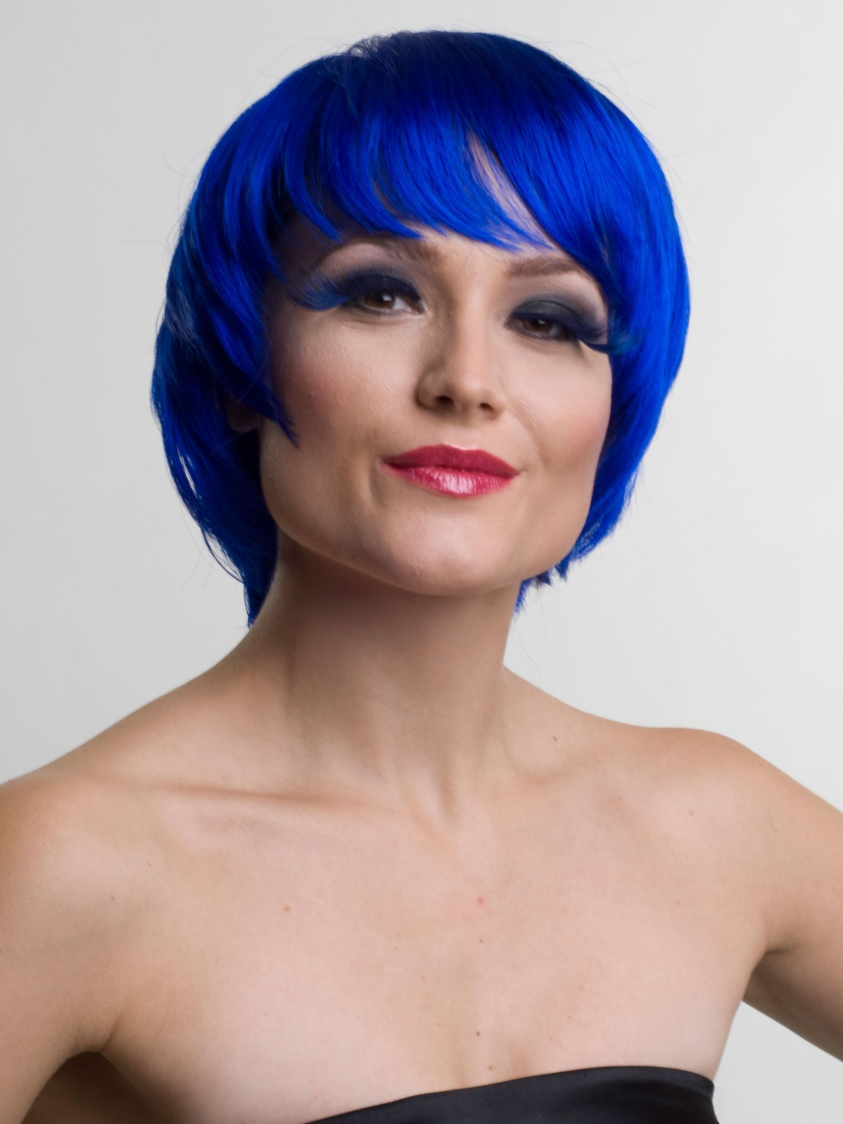 Blue Wigs Lace Frontal Wigs Cheap Human Wigs Red And Blue Ombre Hair Dark Hair With Blue Tint Dark Blue Hair Without Bleach