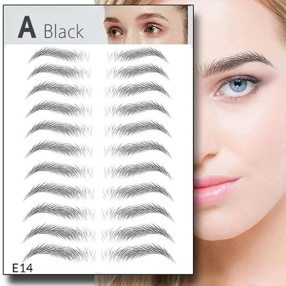 4D Imitation Ecological Tattoo Eyebrow Stickers-BUY 2 FREE SHIPPING