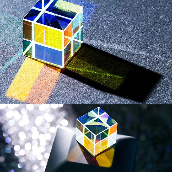 Gift of Light - RGB Dispersion Optical Glass Prism