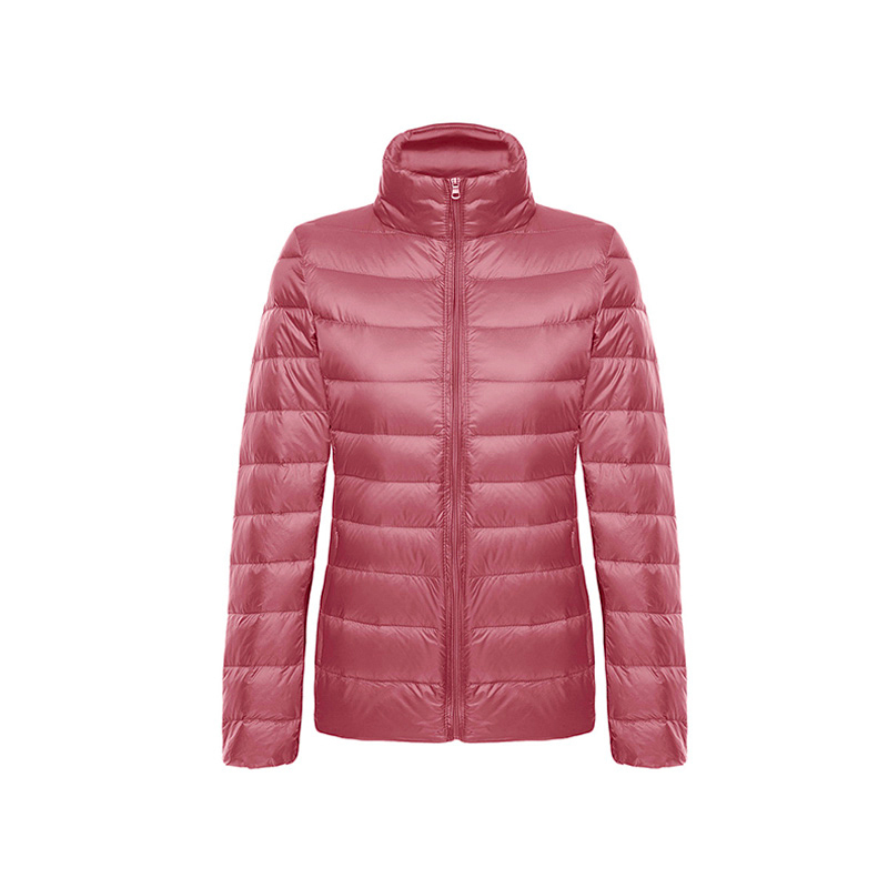 WOMEN-Ultra-lightweight down jacket-Stand-up collar (BUY 2 FREE SHIPPING)
