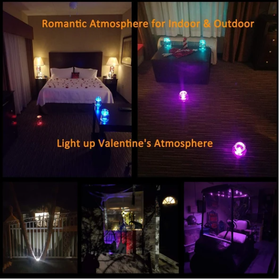 RGB Submersible Light with Remote-Last Day Promotion 50% Off