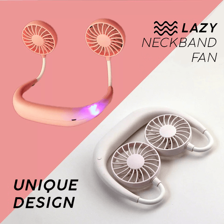 Lazy Neckband Fan