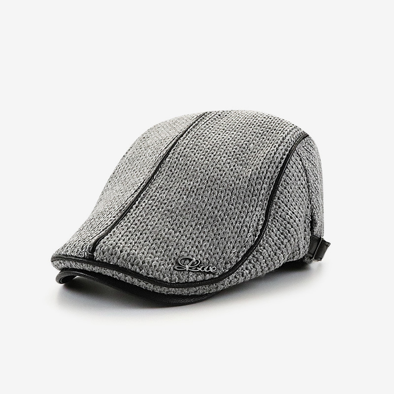 Men's Knitted  Beret
