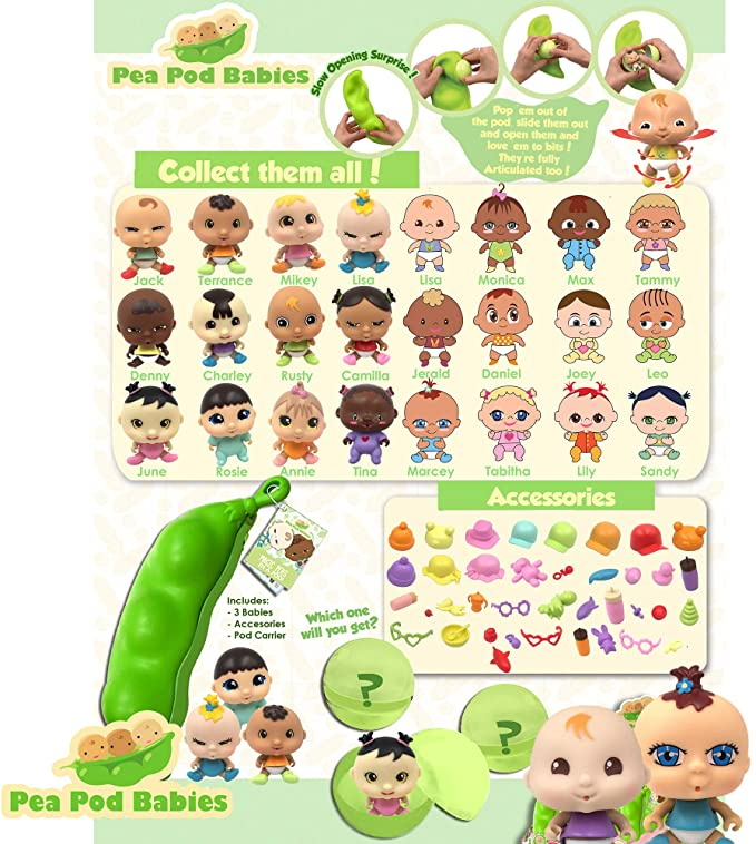 【🎅Christmas Promotion-50% OFF】- Pea pod baby surprise toy