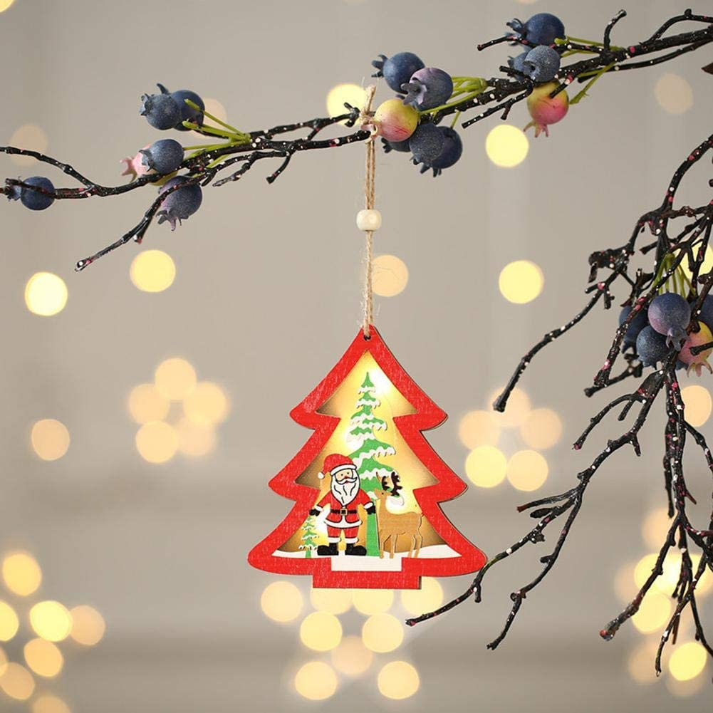 Lovely Christmas Glowing Ornaments