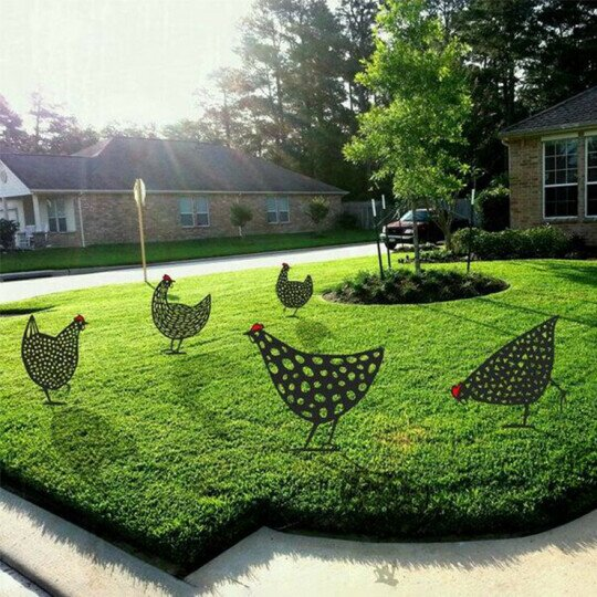 Chicken Yard Art(made in America)