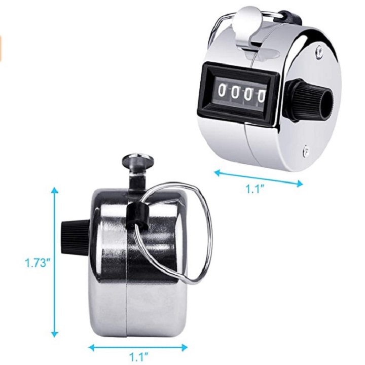 (💥New Year Promotion💥-50% OFF)Metal manual mechanical counter--Buy 3 Get extra 20% OFF
