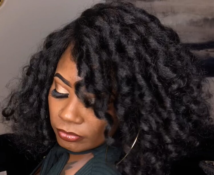 Natural Me Deep Part Swiss Lace Front Wig
