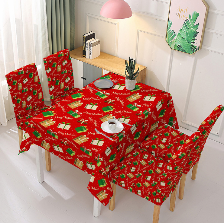 2020 New Christmas Chair Cover-Buy 4 Free Shipping