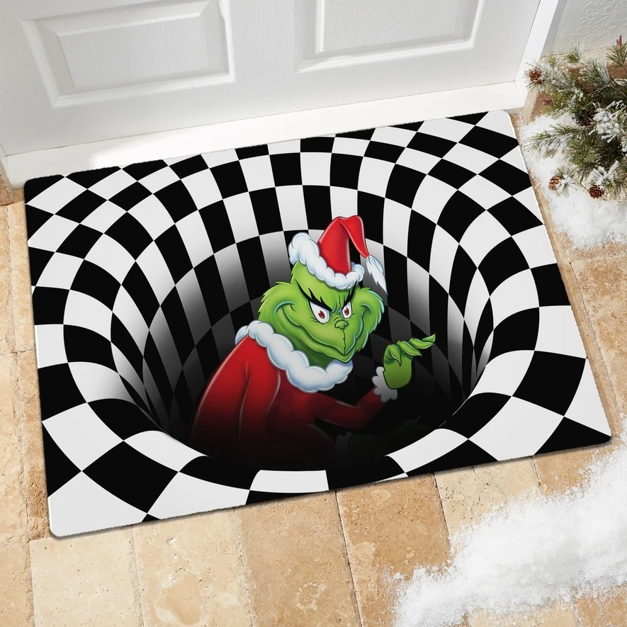 Christmas 3D Illusion Doormat (50% OFF TODAY)