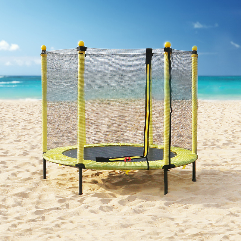 Buyonhome Kids Trampoline for Toddlers with Net and Enclosure