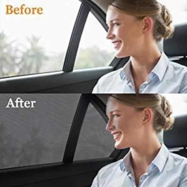 Universal Car Window Sun Shade-Avoid glare, high temperatures fit all cars