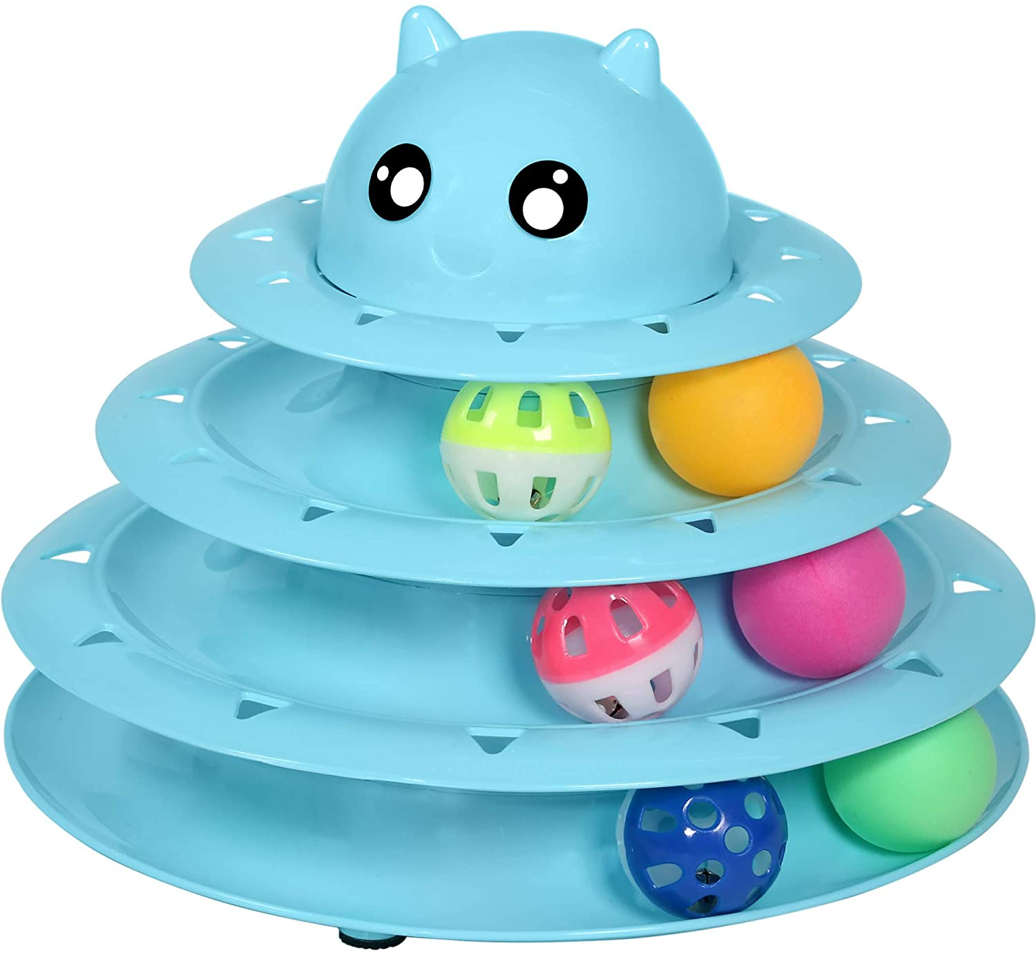 (Buy 2 Free Shipping!!!)-Cat Toy Roller