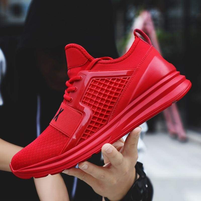 Men's Breathable Mesh Casual Light Fashion Large Size Sports Shoes