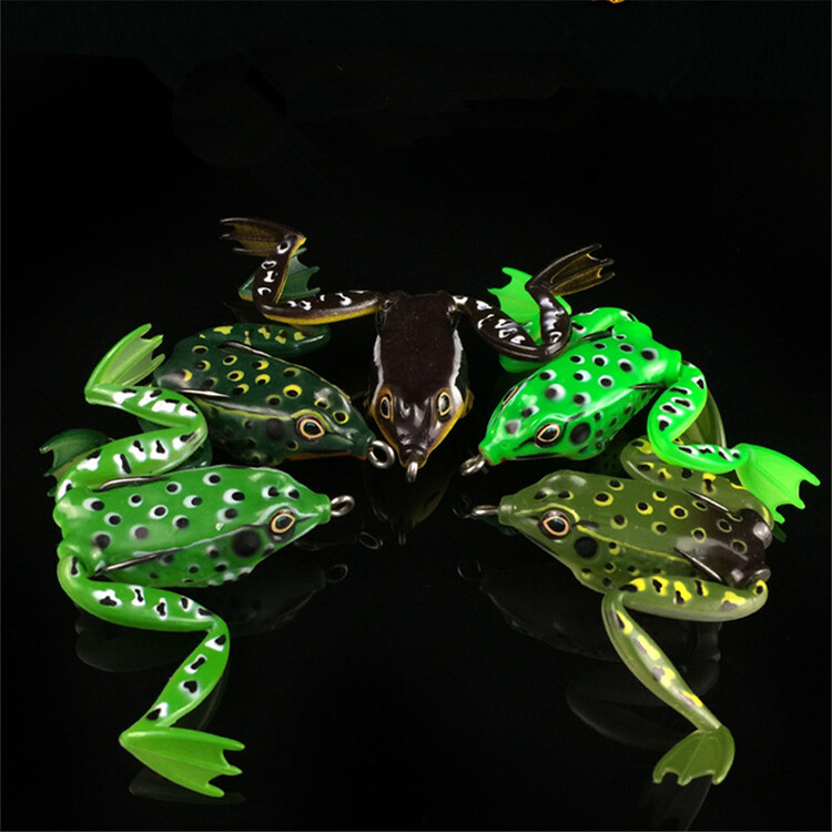Rubber Frog Fishing Bait