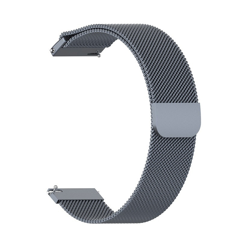 1pc Stainless Steel Milanese Watch Band for Samsung Gear S3 Huami Amazfit Pace