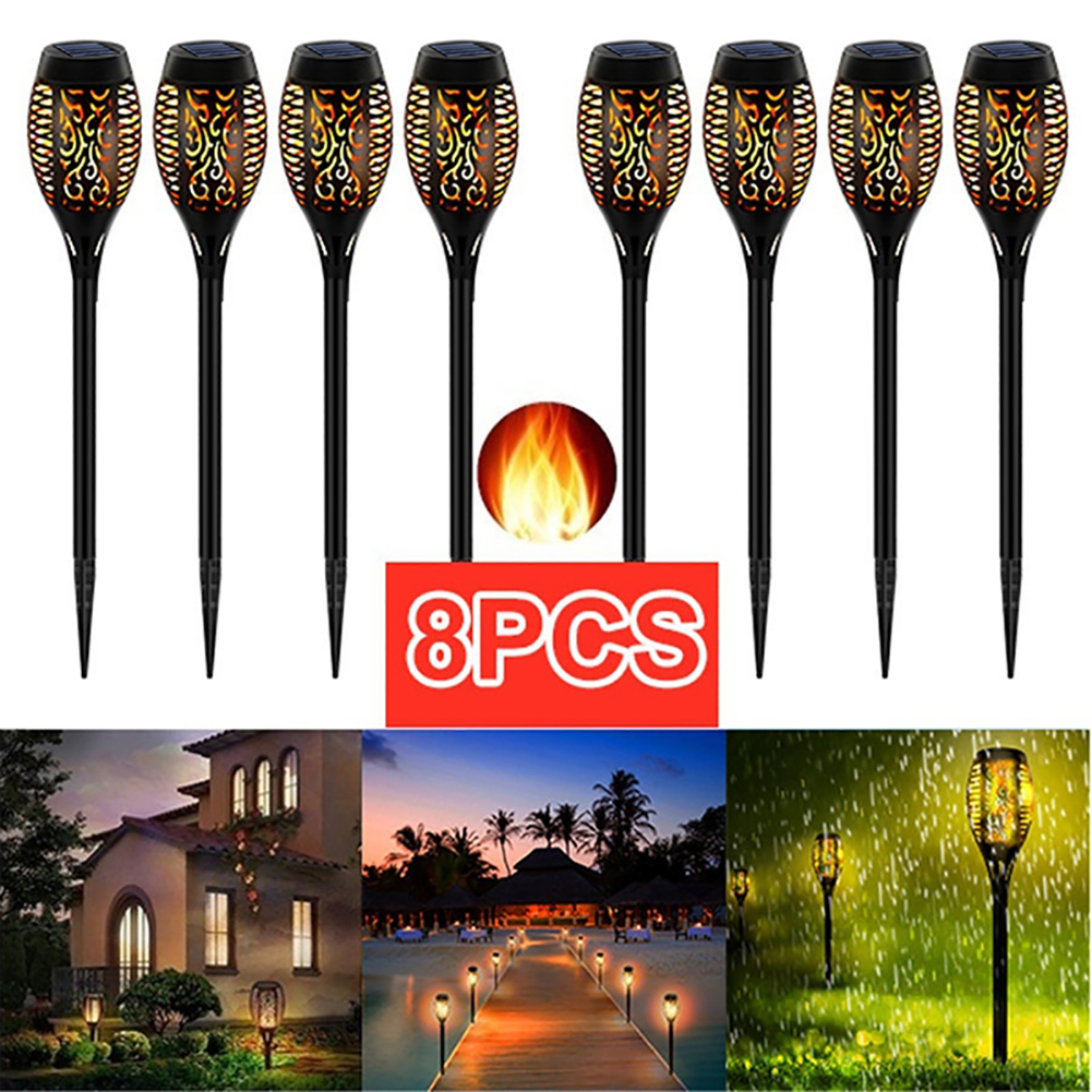 [Delivery within 7 days] The most realistic flashing flame light,make your garden more stunning at night