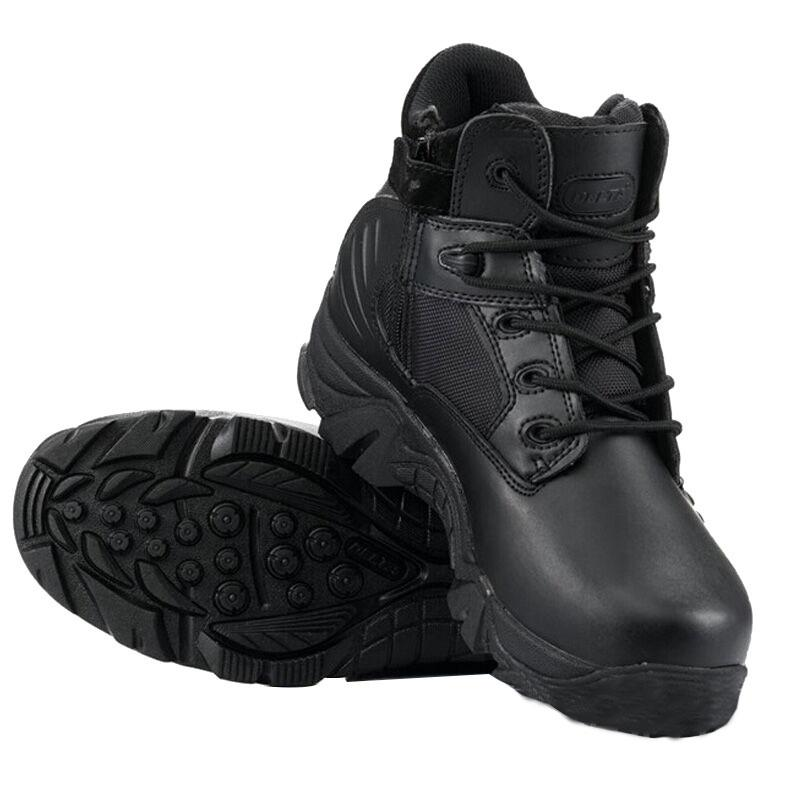 Men Military Tactical Boots Desert Combat Outdoor Army Leather Ankle Shoes