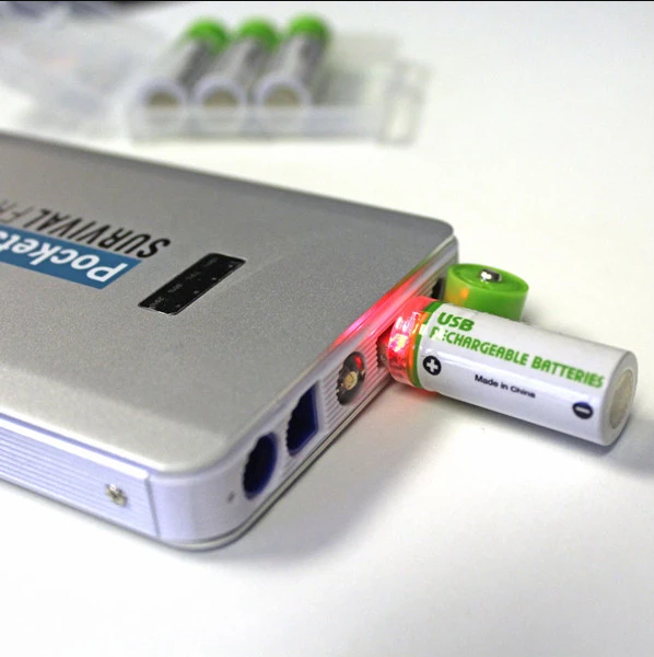 (HOT SALE!)Usb Rechargeable AA Batteries