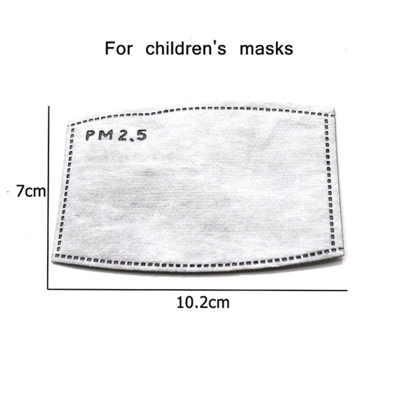 Children Kid Cartoon Cute  Anti Dust Mask With Filters Face Mouth Mask Reusable Breathable Cotton Mask PM2.5 Mouth Mask