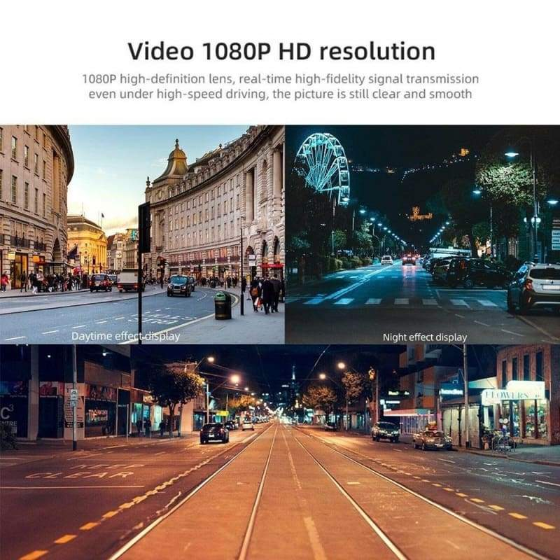 2020 New Upgrade 1080P Full HD Dash Cam Car Video Driving Recorder With Center Console LCD Car DVR Video Recorder, WDR 170¡ã Wide Angle, G-Sensor, Night Vision, Motion Detection, Loop Recording, Parking Monitor(1080P/720P/360P Optional)