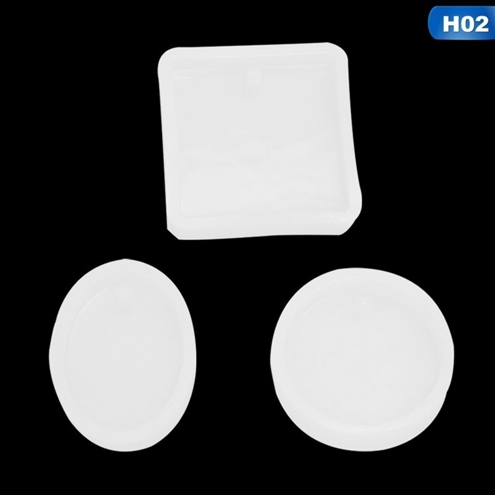3pcs/ Set  DIY Jewelry Silicone Mold Craft Necklace Jewelry Pendant Making Tools