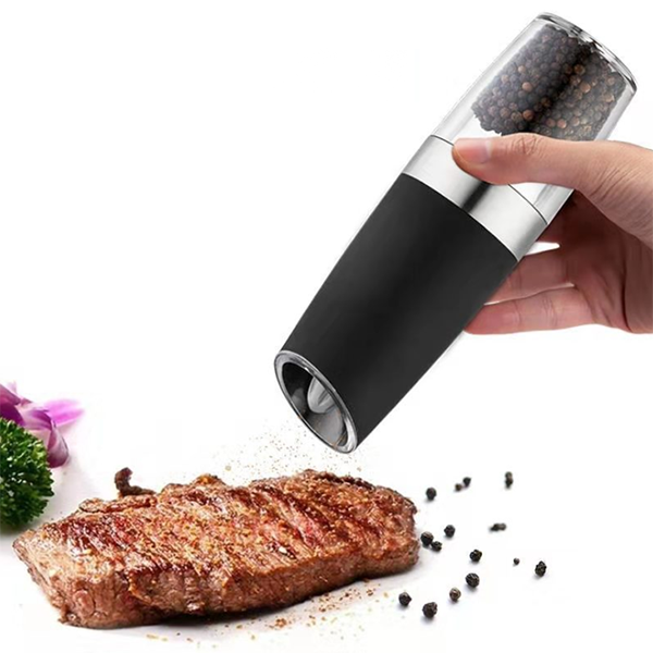 New stainless steel induction pepper mill