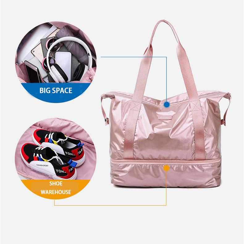 【🌈On Sale Of 50% Off🌈】Large capacity dry and wet separation travel bag