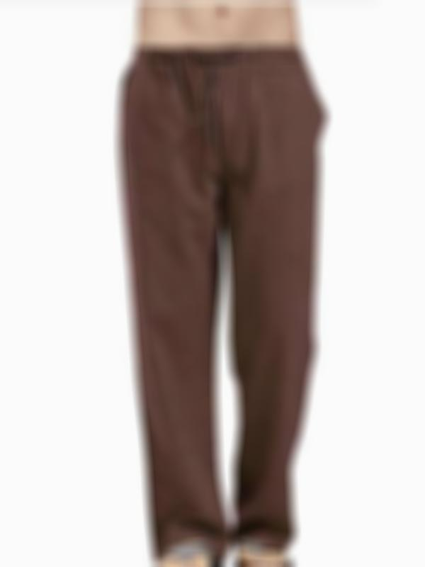 Comfy Loose Eco-friendly Drawstring Casual Pants