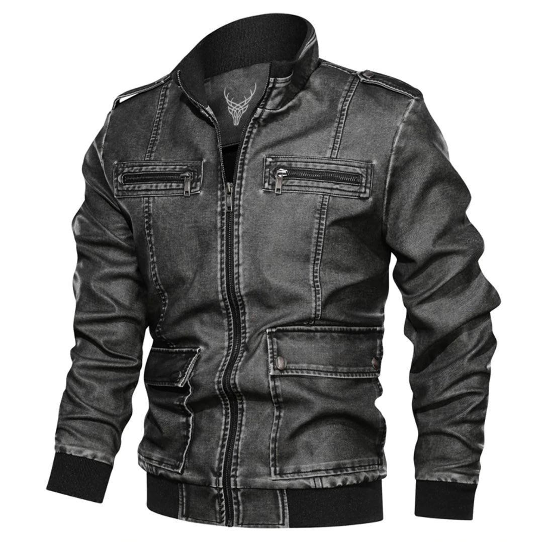 Outwear Starling Biker Leather Jacket