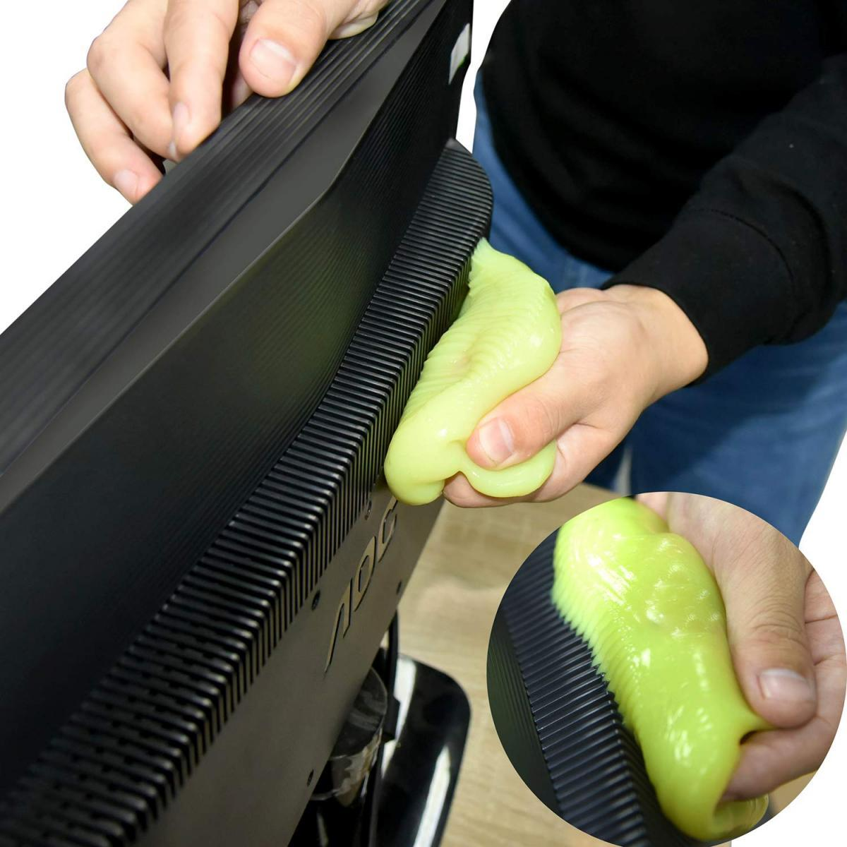 The perfect cleaning toy-Car/Keyboard Clean Adhesive