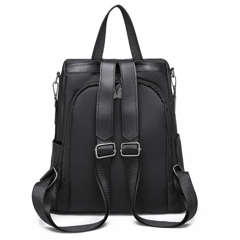 Oxford cloth simple backpack women's anti-theft backpack