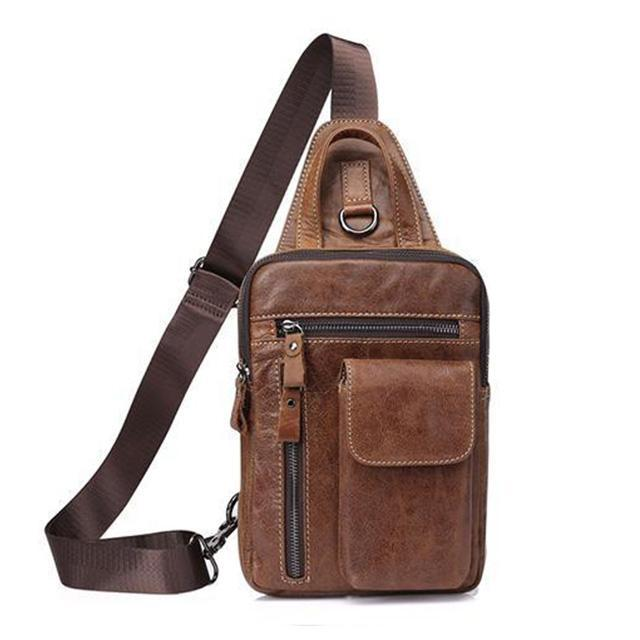 Outwear Leather Chest Bag
