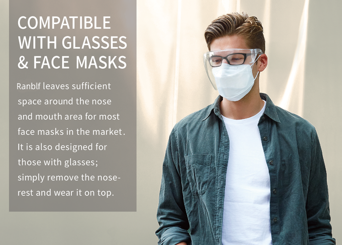 Ranblf™ 2020 NEW Fashion Style-Transparent Glasses (buy more save)