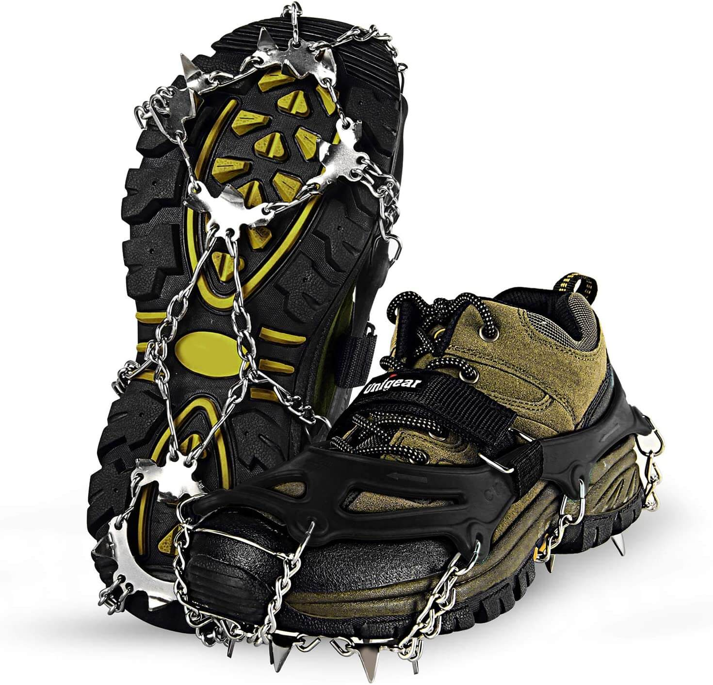 Traction Cleats Ice Snow Cleats With 19 Spikes
