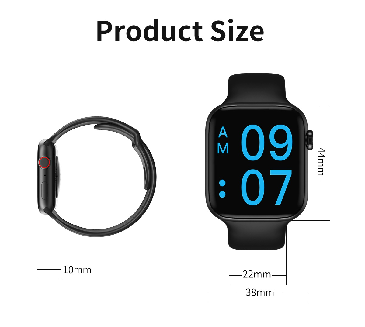 NEW Arrive As Apple's 5th Generation Smart Watch Work Support Heart Rate Detection Blood Pressure Test Sleep Monitoring Bluetooth Call Waterproof Sports Smarrwatch Exquisite Tracker Smart Bracelet Wristband
