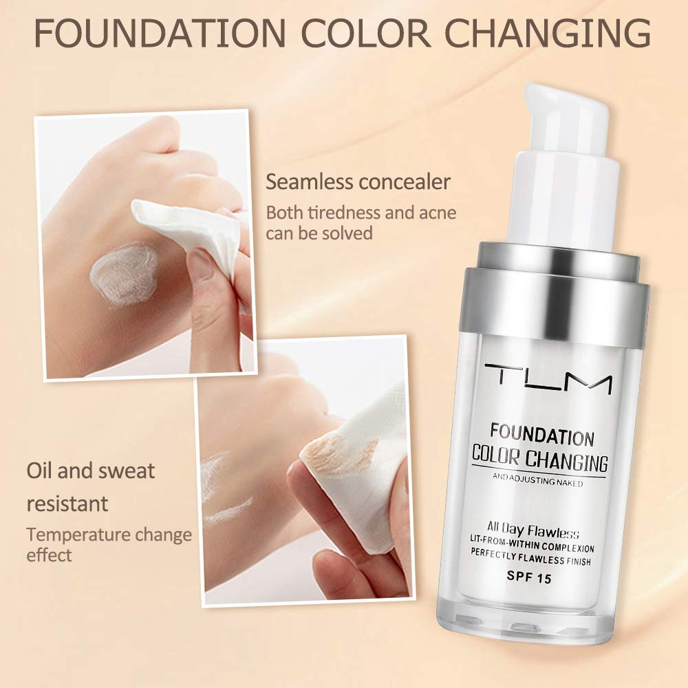 Color Changing Foundation (All Day Flawless)